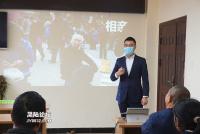 阳安律所律师唐健、胡能富前往黑水寺村开展法律知识讲座