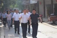 成都东部新区党工委书记张瑛赴玉成街道调研城乡综合治理工作