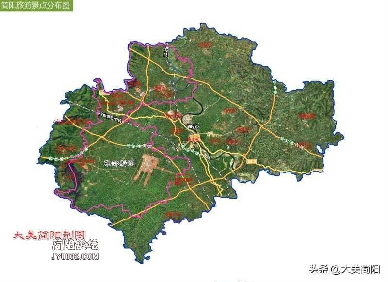 简阳和成都东部新区的关系?