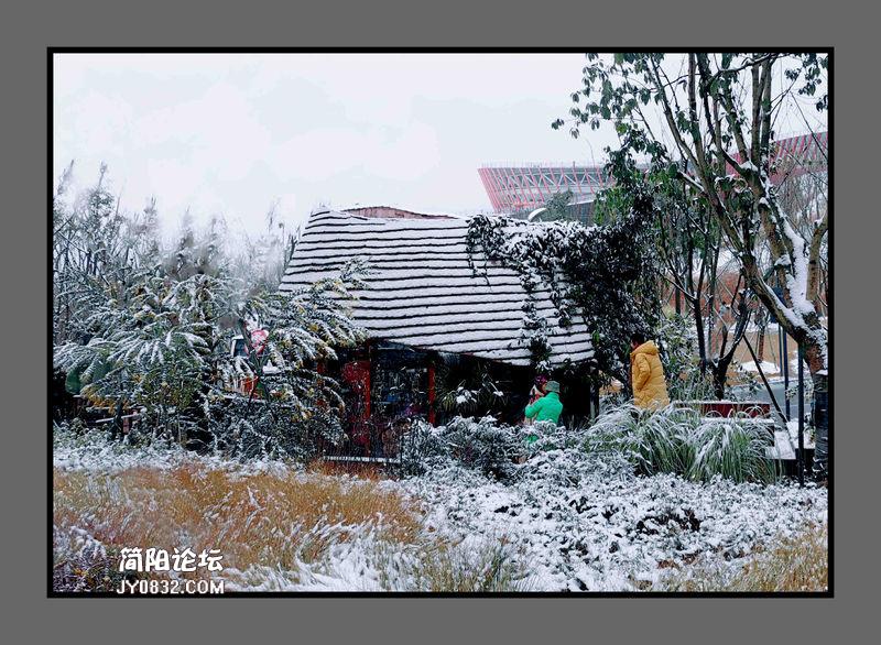 身边的雪乡——手机拍摄丹景山